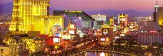 The Strip, Las Vegas, Nevada.   Click to buy this City Art Print!