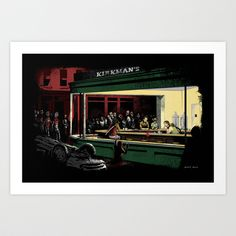 Nightwalkers Art Print by The Cracked Dispensary - $16.00