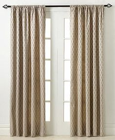 "Miller Curtains Window Treatments, Penwood 50"" x 84\"" Panel"