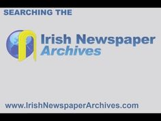 Searching Irish Newspaper Archive Learn the basics of How to best search Irish News archives to maximise your chances research of success. History Websites, Irish News, Summer Courses, Newspaper Archives, Content, Learning, Maths, School, Summer Classes