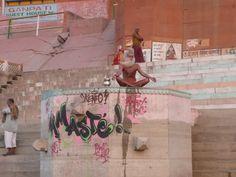 Fotografía: Justo Palma Durga, Varanasi, India, Painting, Art, Boating, Palms, Fotografia, Art Background