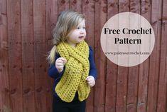 Toddler Crochet Scarf Wrap Pattern