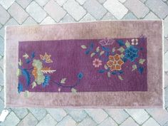 1920s area rugs | Antique Art Deco Chinese 2x4 Oriental Rug B 8041 | eBay