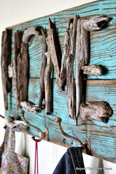 Écrire en bois flotté - DIY