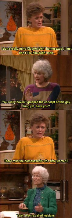 Blanche Can't Grasp The Concept Of It