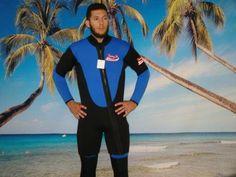 New 2 Piece 7 Mm Farmer John Style Wetsuit, Size 4Xl, Surf, Dive, Scuba, Gold Dredge #6900