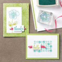 Penned & Painted Just for YOU! | Stampin' Pretty