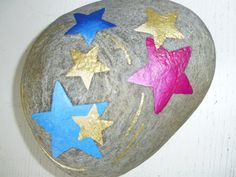Sterne+auf+Stein++von+PomPelle+auf+DaWanda.com