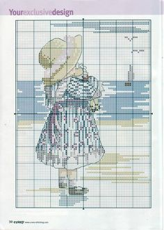 Atelier Colorido PX: Menina na praia... lindo quadro!