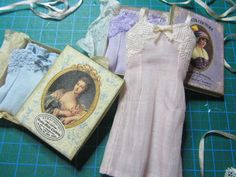 How to make a vintage dollhouse miniature nightgown in 1inch Scale