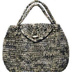 Handbag long or short handles purse Crochet Pattern