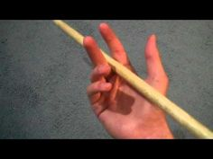 how to spin a drum stick two different ways - YouTube