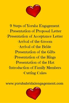 Yoruba Traditional Engagement Ceremony is also a Yoruba wedding