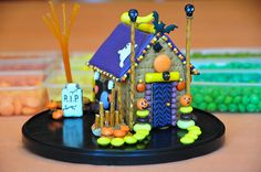 gingerbread house cookie house Halloween