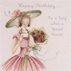 Cards » To a lady who's a Special Friend » To a lady who's a Special Friend - Berni Parker Designs