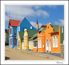 The colours of Namibia - Luderitz, Karas - Namibia