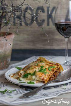 weltbeste italienische Lasagne mit Bechamelsauce