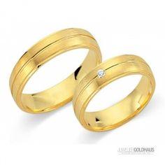#Trauringe #Eheringe Gold Gelbgold - CERA3377