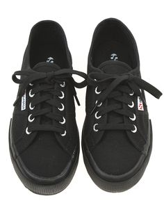 1d3f1c78e5 Superga 2750 Cotu Classic - Full Black Worn by the likes of Suki Waterhouse  and Alexa