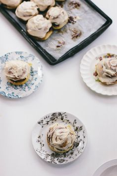 brioche cinnamon rolls with brown butter frosting | wit & delight