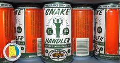 ALABAMA: GOOD PEOPLE BREWING CO. SNAKE HANDLER DOUBLE IPA    As Bible Belt states continue to lighten up on laws that have stymied the beer scene in the past, Birmingham's trailblazing Good People Brewing Co. boldly flexes its muscles with this potent, piney, and well-balanced imperial IPA. Made with five hop varieties, the canned knockout delivers an assault of grapefruit, caramel, and papaya.—AS