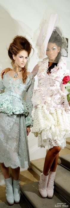 Dior Spring Couture ♛ ♛  VIP Pass Backstage Fashion Show  {backstage}  ♛ ♛    Backstage -