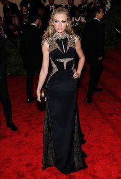 My favorite look from the Met Gala 2013 , Taylor Swift , looking flawless