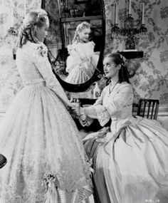 Miriam Hopkins and Bette Davis in The Old Maid (1939)