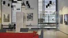 Galleria Anna / Anna Art Gallery Blinds, Art Gallery, Anna, Stairs, Presents, Curtains, Home Decor, Stamps, Sunroom Blinds