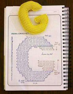 Crochet Square Patterns, Crochet Diagram, Crochet Stitches Patterns, Crochet Chart, Stitch Patterns, Diy Crochet Toys, Crochet Dolls, Crochet Projects, Knit Crochet
