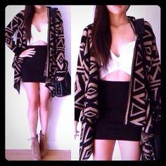 H&M Black Bodycon Skirt H&M Black Bodycon Skirt Short- Medium length Stretch Fabric   Size Large H&M Skirts Mini