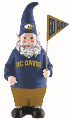 Who wouldn't love to get this cute #UCDavis gnome as a gift!