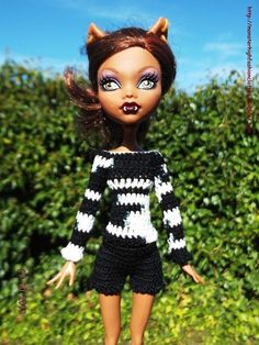 Ropa Monster High s124 von My Monster High boutique auf DaWanda.com