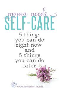 WAHM-self-care
