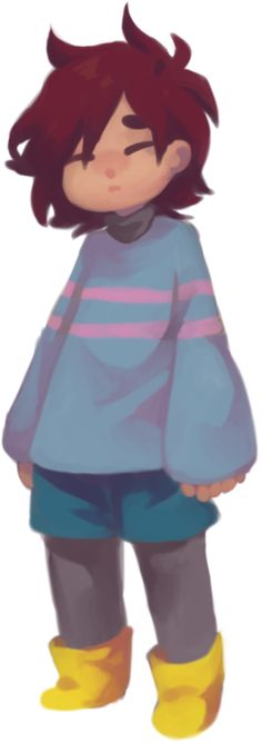 Hiya!I'm Frisk!I love hanging out with my friends and Hanging out with Flowey too!(Played by me)