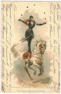 Souvenir from the Barnum & Bailey, Greatest Show on Earth_  Illustration by E. Gailemo