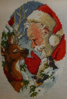 Gallery.ru / 08755 - Spirit of Santa Ornaments - 08755 - Spirit of Santa Ornaments.Protsess.Podbor mine. - Verena