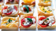 Mini Puff Pastry Tartlets