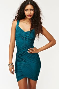 $48 Nasty Gal Wrapped Up Dress