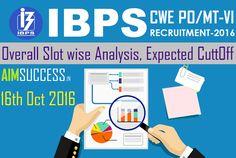IBPS PO Pre Exam Analysis 2016 -16th October 2016 ( Slot wise Analysis,  Expected 30afa150ea