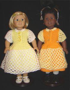 Free Crochet AG Lacey Celebration Dress Pattern.