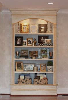 The color for the armoire. The main cabinet is white and old white. Don't like the Gold but maybe some other color. I sealed the entire piece with Annie Sloan's clear wax and then top-coated the entire piece with Annie Sloan's dark wax Outdoor Wood Furniture, Wood Bedroom Furniture, Furniture Update, Chalk Paint Furniture, Distressed Furniture, Billy Hack, Kitchen And Bath Remodeling, Beautiful Homes, Family Room