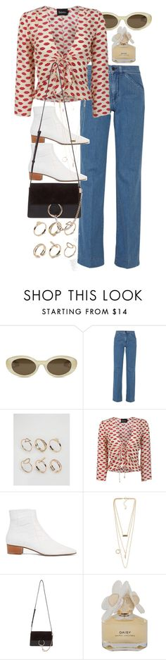 """""""Untitled #10190"""" by nikka-phillips ❤ liked on Polyvore featuring Elizabeth and James, Victoria, Victoria Beckham, ALDO, The Row, NLY Accessories, Chloé and Marc by Marc Jacobs"""