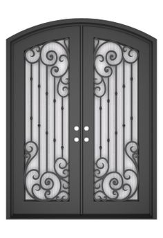 3D drawing. www.kohliron.com Front Door Entryway, Iron Front Door, Window Grill Design, Iron Balusters, Metal Stairs, Door Design Interior, Wrought Iron Doors, Iron Gates, Iron Decor