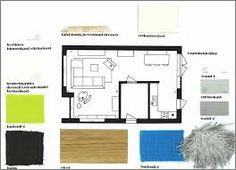plattegrond woning woonkeuken - google zoeken - keuken | pinterest, Deco ideeën