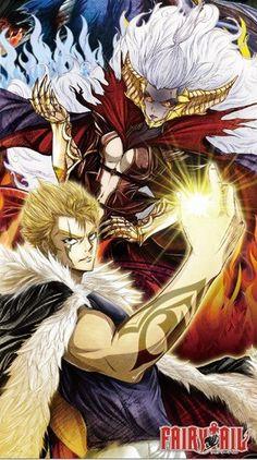 Fairy tail// Laxus and Mirajane