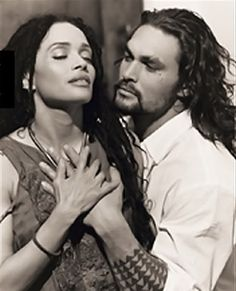Lisa Bonet & Jason Momoa may just be the hottest couple on the planet! How can two people be THAAT good looking? They used up all the good genes right there. Jason Momoa Aquaman, Aquaman Actor, Beautiful Couple, Beautiful Men, Jason Momoa Lisa Bonet, Interracial Love, Famous Couples, Taylor Kitsch, Avan Jogia