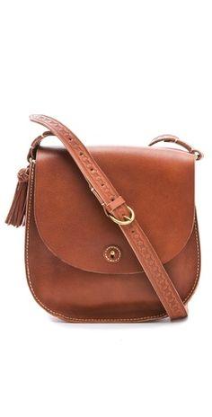 Madewell Tassel Flap Bag