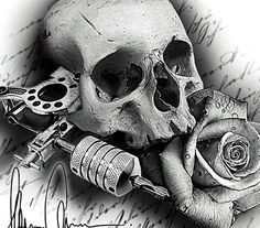Chicano Arte Car Tattoos, Knuckle Tattoos, Bild Tattoos, Skull Tattoos, Sleeve Tattoos, Tattoo Blog, Tattoo Studio, Skull Tattoo Design, Tattoo Designs