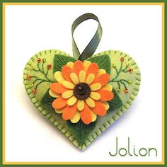 Happy Heart Sunflower II
